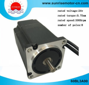 60bl3a90 BLDC Motor Electric Motor 48V 235W 3000rpm 0.75nm BLDC Motor pictures & photos