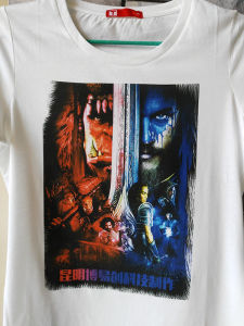 6 Colors Professional T-Shirt Printing Machine pictures & photos