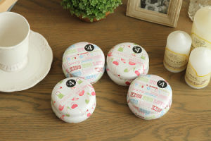 8oz Candle Tins, Candle Jars with Lids pictures & photos