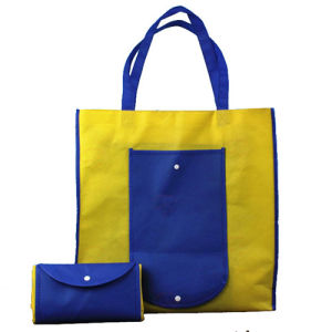 Promotional Gift Reusable Non-Woven Fabric Tote Foldable Shopping Bag pictures & photos