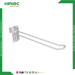 Wire Slatwall Pegboard Single Double Hooks Mesh Hooks for Shop Supermarket pictures & photos