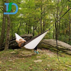 High Quality Parachute Nylon Hammock for Camping pictures & photos