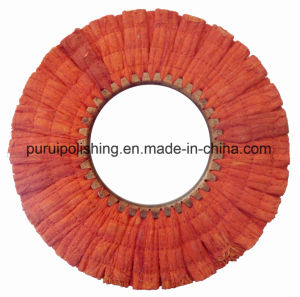 Red Airway Sisal Buffing Polishing Wheel for Metal pictures & photos
