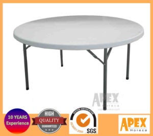 Plastic Folding Round Table Foldable Catering Table pictures & photos