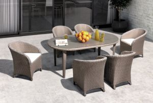 Garden PE Rattan Wicker Dining Table and Chair for Outdoor Furniture (TG-015) pictures & photos