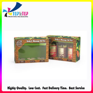Popular Selling OEM Silver Paper Soft Touch Laminated Box pictures & photos