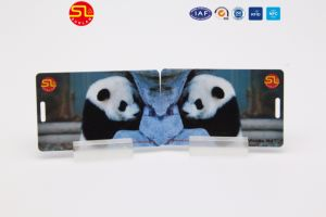 Bulk Order RFID PVC Monza Chip Card with Hole pictures & photos