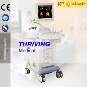4D High Quality Color Doppler Ultrasound Scanner (THR-CD5000) pictures & photos