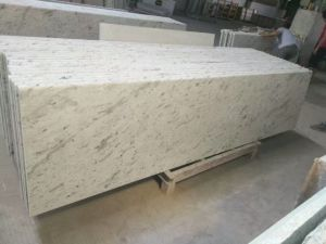 Andromeda White Slab & Vanity Top& Countertop for Kitchen and Bathroom pictures & photos