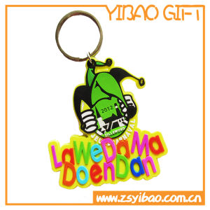 PVC Rubber Football Shirt Keychain for Promotional Gift pictures & photos