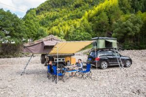 Car Roof Tent 280g Canvas 2m*2m Car Awning pictures & photos