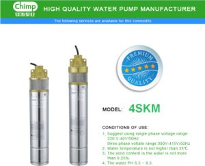 2017 Year 3, 4 Inch Submersible Water Pumps pictures & photos
