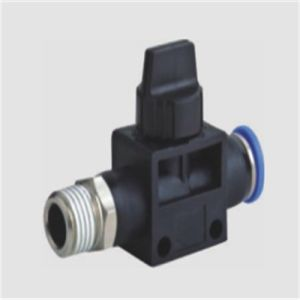 Hot Selling Hvsf Pneumatic Straight Hand Valves pictures & photos