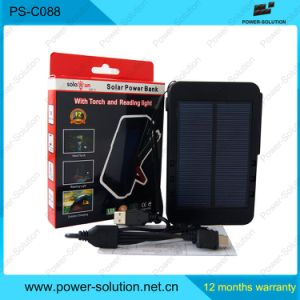 Table Reading Outdoor Torch Solar Portable Power Bank pictures & photos