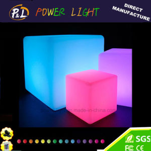 LED Furniture Lighting Cubic Chair Lighted LED Cube Chair pictures & photos