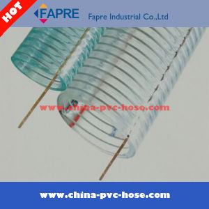 2017 Hot Sell PVC/Plastic Steel Wire Hose pictures & photos
