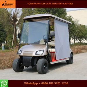 Customized Good Quality New Model 4 Seater Electric Golf Cart pictures & photos