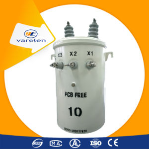 Single Phase Pole Mounted Oil Immersed Type 100 kVA Transformer pictures & photos