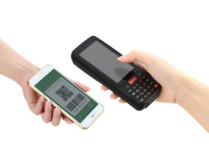 Wireless 4G Android Mobile Terminal Rugged with Barcode Scanner