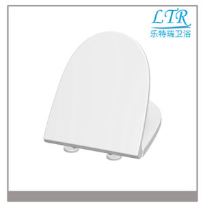 Bathroom Accessories Deluxe White Toilet Seat pictures & photos