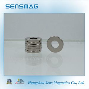 N45m Factory Manufacture Permanent NdFeB Ring Magnet for Generator, Bearing, Brake pictures & photos