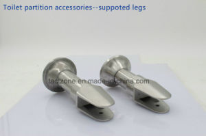 Directly Factory Toilet Cubicle Partition Accessories Set Adjustable Legs pictures & photos