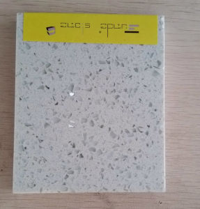 Kitchen Countertop Crystal White Quartz Direct From Factory pictures & photos