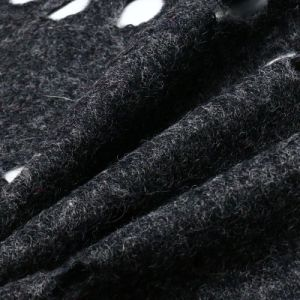 50% Polyester 50%Wool Woolen Fabric for Women Garment pictures & photos