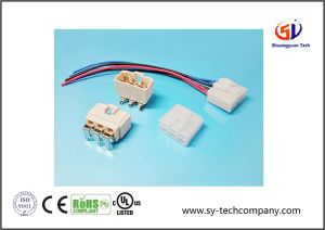 "8.9mm (0.35"") Pitch Wire to Board Connector pictures & photos"