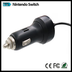 Car Charger Adapter for Nintendo Switch Video Game Console 1.8m Cable