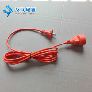VDE Approved Male and Female Power Extension Cable pictures & photos