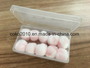 Natural Wax Cotton Earplug for Swimming and Sleeping pictures & photos