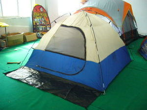 Camping Tent for 2-3 Person Hikking Outdoor Leisure Folding Tent pictures & photos