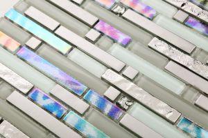 310X300mm Vidrepur Glass Mosaic in Foshan (HT1514) pictures & photos