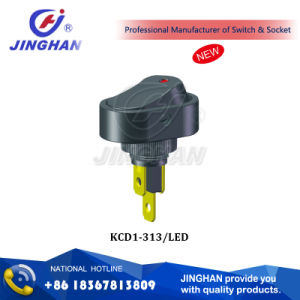 Kcd1-313/LED 3 Pins-Switch 6A 250VAC/ 10A 125VAC pictures & photos