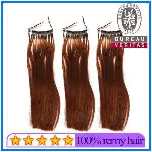 New Single Strand Micro Ring Hair Extension with Silicone pictures & photos