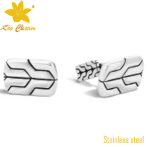 Cufflink-006 Custom Handmade Two-Tone Color Men Accessories pictures & photos