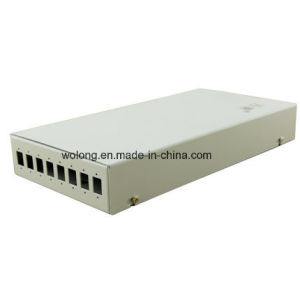 8 Ports Thick 1.0mm Optical Fiber Termination Box Sc