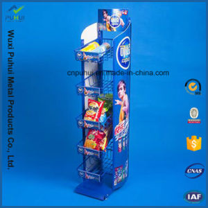 Single Sided 5 Layer Floor Standing Metal Display (PHY365) pictures & photos