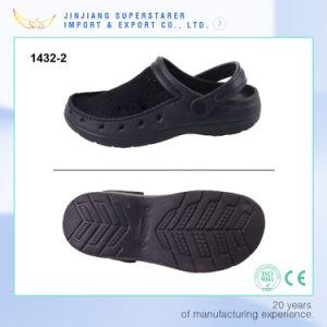 Black EVA Clogs Sandals, Summer Breathable Mesh Shoes Men pictures & photos