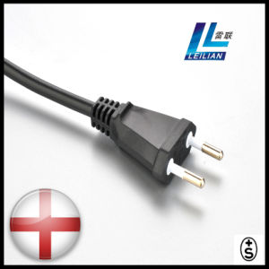 2 Pins Power Plug Cord of Home Appliance for Switzerland pictures & photos