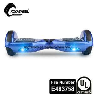 UL2272 Certificate Koowheel 6.5 Inch Smart Balance Scooter Blue pictures & photos
