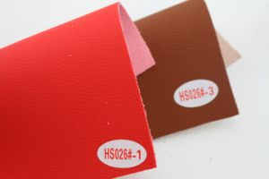 Fashion Waterproof Microfiber Leather Faux Leather for Sofa (HS026#) pictures & photos