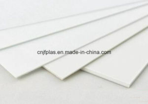 Corona Treated White ABS Sheet for Advertising Printing pictures & photos