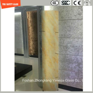 3-19mm Silkscreen Print/Acid Etch/Frosted/Pattern Irregular Bent Safety Tempered/Toughened Glass for Door/Window/Shower with SGCC/Ce&CCC&ISO Certificate pictures & photos
