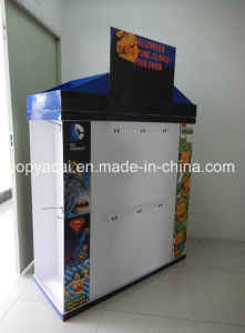 Cardboard Floor Standing Display Corrugated Dump Bin Pallet Display for Pet Clothes pictures & photos