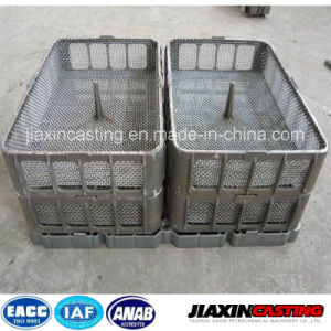 Heat Treatment Stainless Steel Casting Base Tray Basket pictures & photos