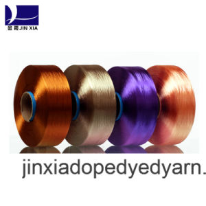 FDY Dope Dyed 1000d/384f Filament Polyester Yarn pictures & photos