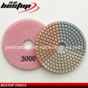 3 Inch Polishing Pad for Marble Granite Concrete Polishing pictures & photos