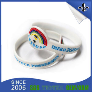Custom Silicone Rubber Wristbands with Samples Free pictures & photos